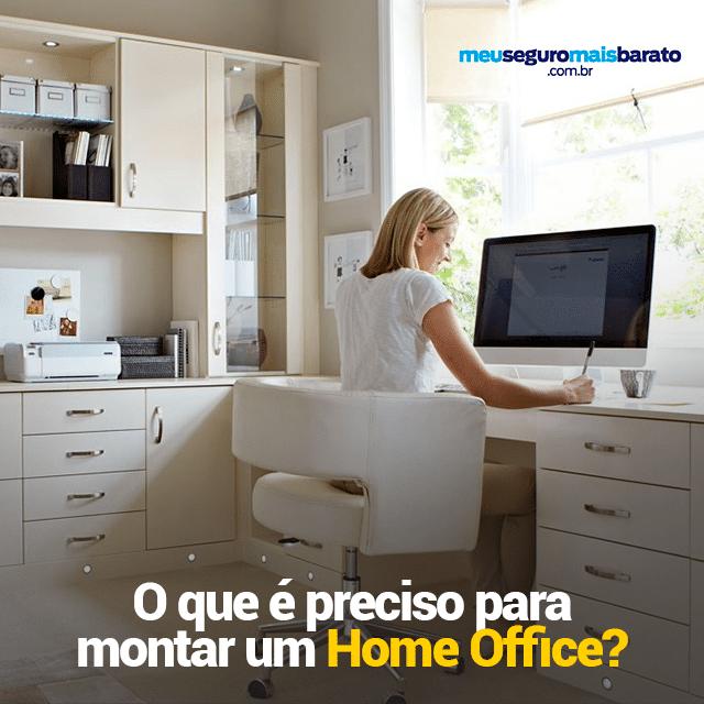 O que é preciso para montar um Home Office?