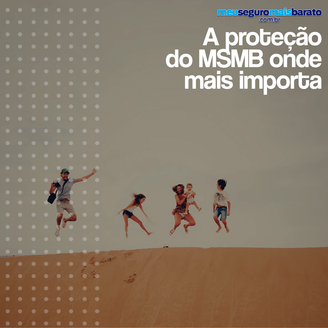 A proteção do MSMB onde mais importa